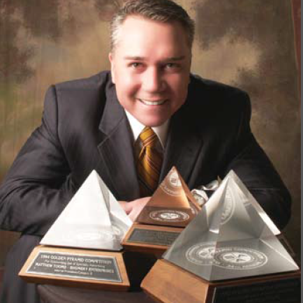 4-Time Golden Pyramid Award Winner