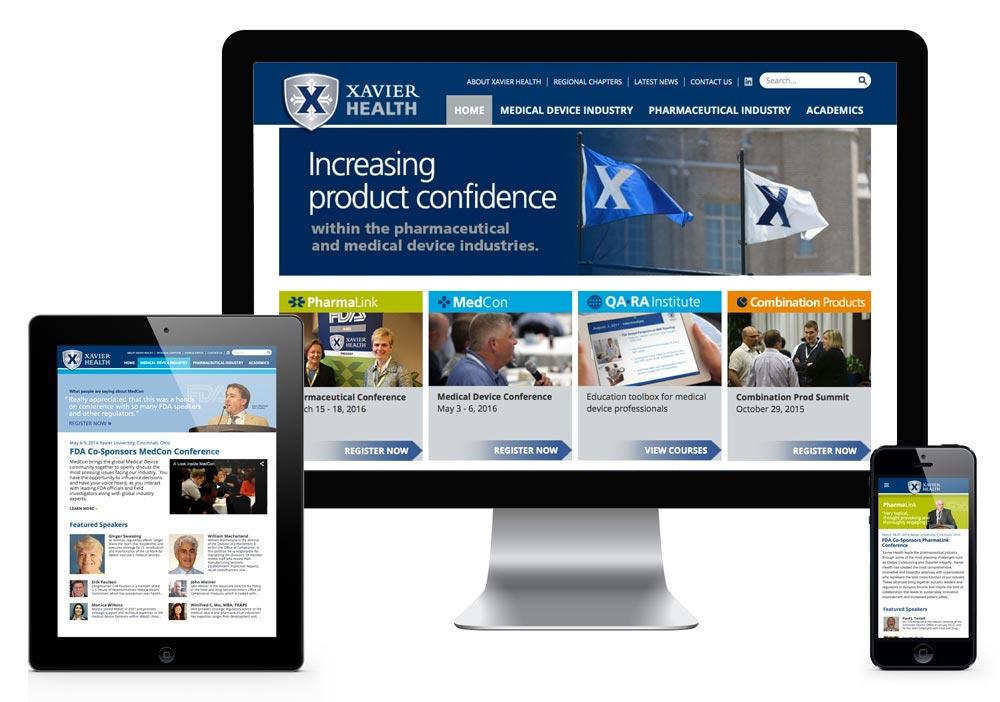 Xavier Website