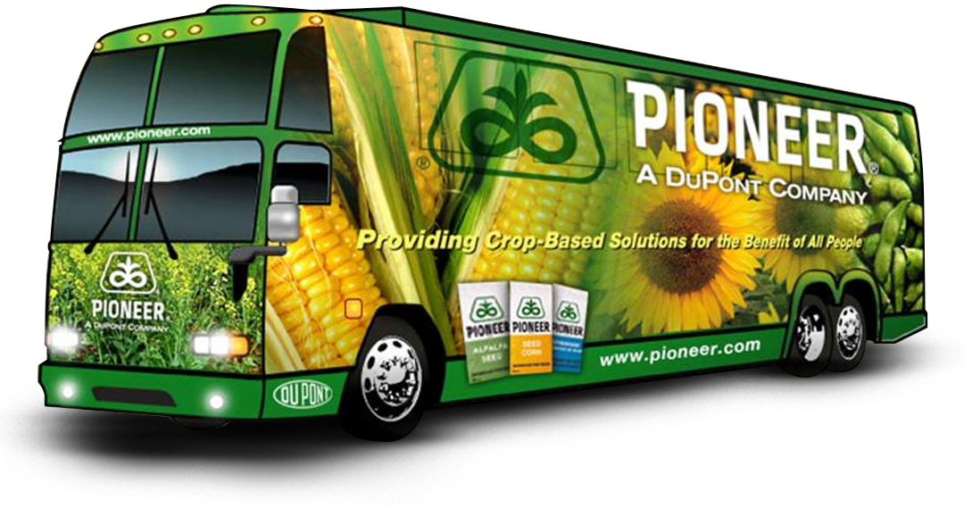 Pioneer Vehicle Wrap – A DuPont Company